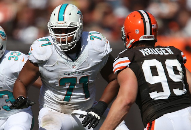 Jonathan Martin checked into a hospital sometime after leaving the Dolphins on Oct. 28. (USATSI)