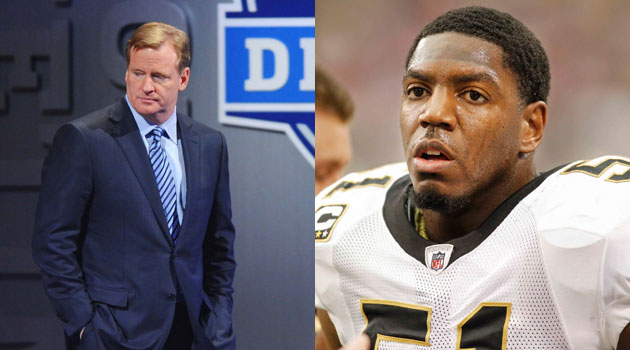 Formerly punished players tweet taunts to Roger Goodell