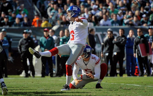 Apparently Josh Brown can kick and sing. (USATSI)