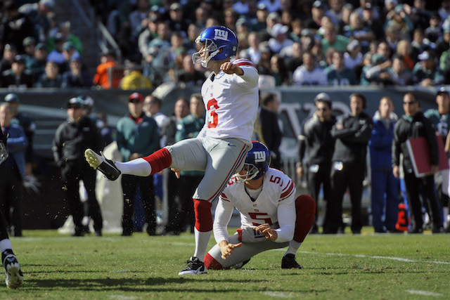 Giants kicker Josh Brown has known Richie Incognito for over a decade. (USATSI)