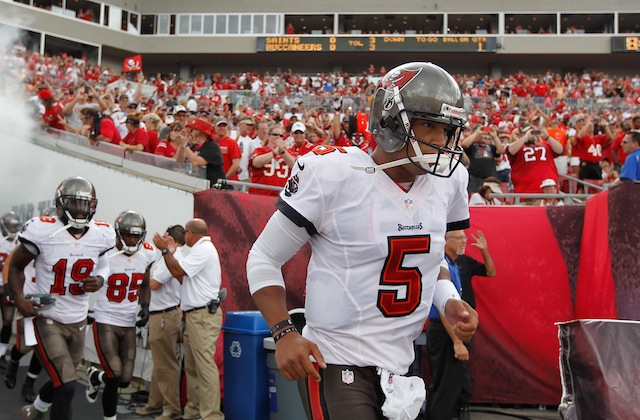 The Browns reportedly have no interest in former Buccaneers quarterback Josh Freeman. (USATSI)