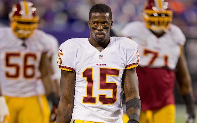 Former Redskins receiver Josh Morgan has been charged with simple assault in Washington DC. (USATSI)