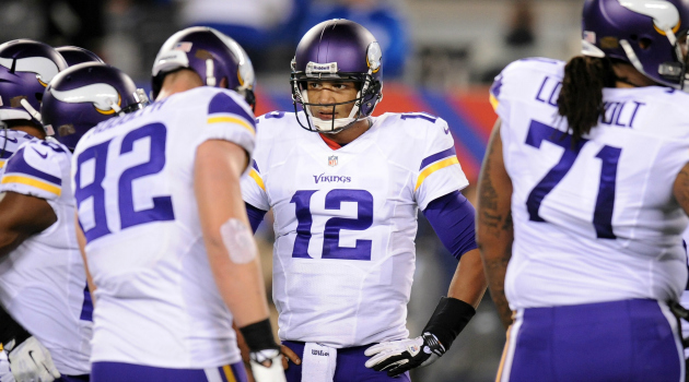 Josh Freeman was completely lost on Monday night.