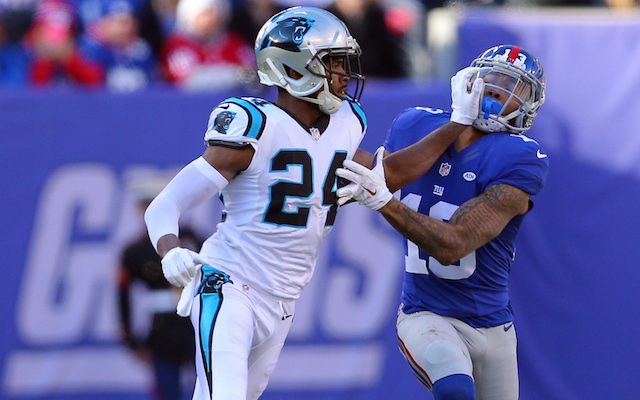 Josh Norman and Odell Beckham don't seem to like each other much. (USATSI)