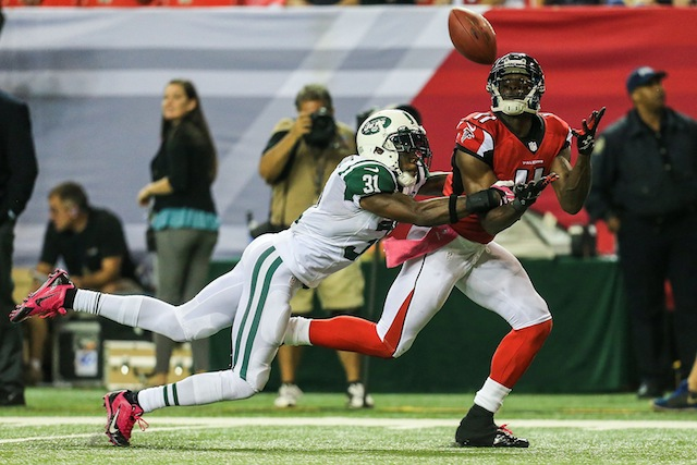 Julio Jones will miss the rest of the 2013 season after fracturing his foot on Monday. (USATSI)
