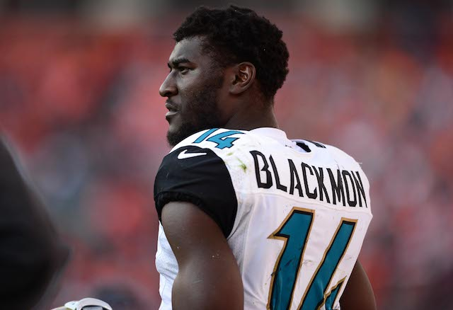Justin Blackmon won't play again until 2014 at the earliest. (USATSI)