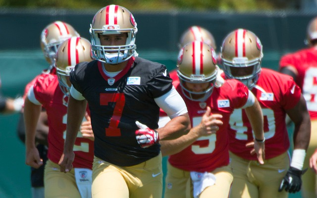 Colin Kaepernick is a $100 million man. (USATSI)
