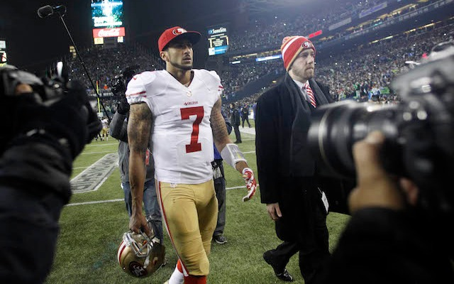 Police have finally released the audio of the 911 calls made during the Colin Kaepernick incident. (USATSI)