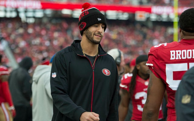 Is Colin Kaepernick willing to take a pay cut? (USATSI)