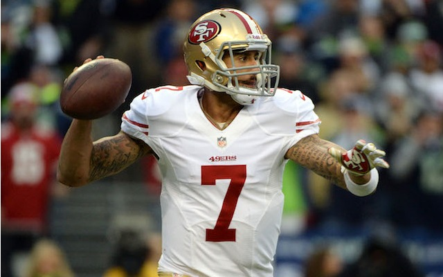 Colin Kaepernick's 59 mph pass at the 2011 NFL combine is no longer the fastest. (USATSI)
