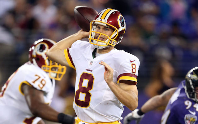 Does Kirk Cousins deserve a chance at the starting job in Washington? (USATSI)
