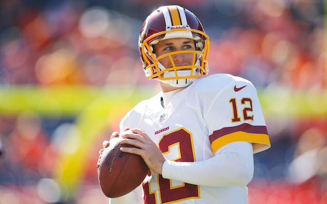 Kirk Cousins is over engagement photos. (USATSI)