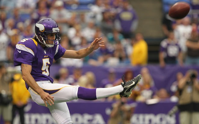 Chris Kluwe won't be suing his former team after all. (USATSI)