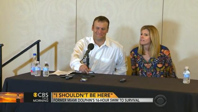 Rob Konrad lived through a boater's worst nightmare. (CBS News)