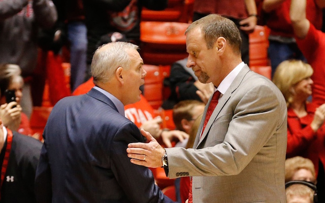 Larry Krystkowiak and Dave Rose will not face off against one another next season. (USATSI)