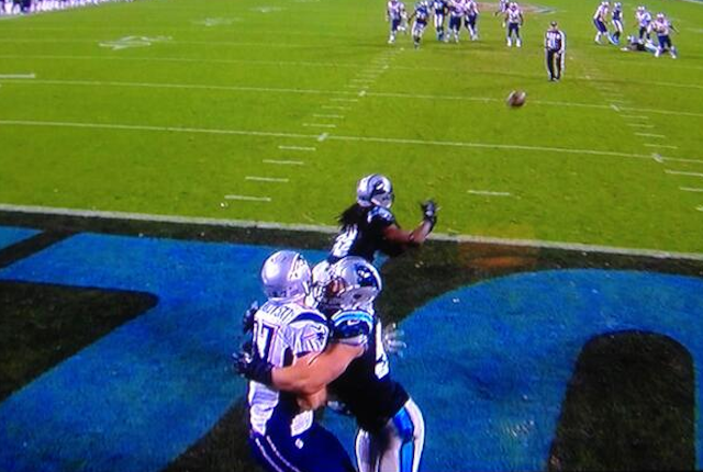Should Luke Kuechly have been penalized for doing this to Rob Gronkowski? (ESPN)