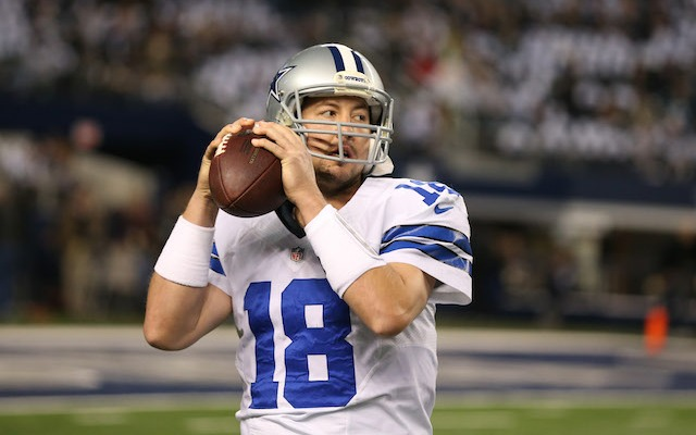 Kyle Orton is done in Dallas. (USATSI)