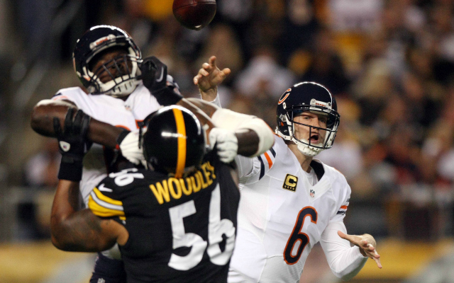 LaMarr Woodley is out for the year with a calf injury.