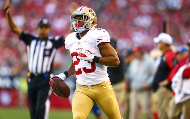 Is LaMichael James' career in San Francisco over? (USATSI)