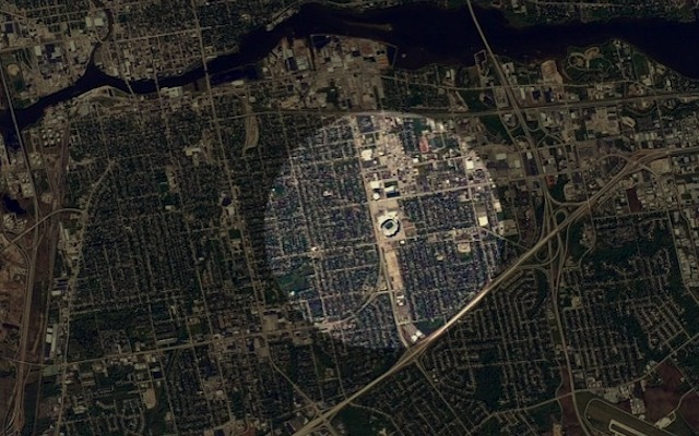 this is what lambeau field looks like from space twitter