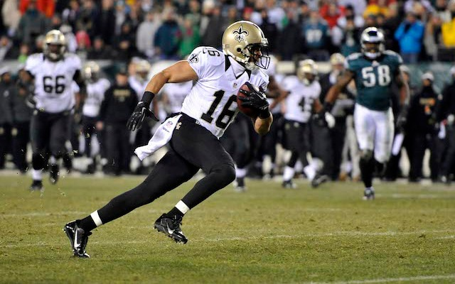 Former Saints receiver Lance Moore will be spending the next two years in Pittsburgh. (USATSI)