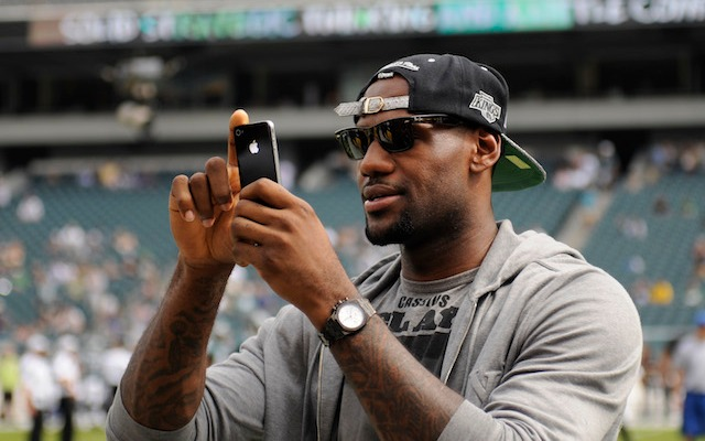 LeBron James tweeted his support to Richard Sherman on Thursday. (USATSI)