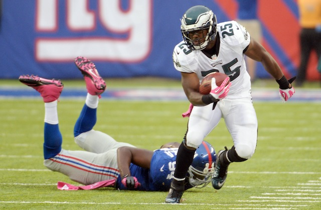LeSean McCoy confirmed on Wednesday, that he does in fact think Knowshon Moreno sucks. (USATSI)