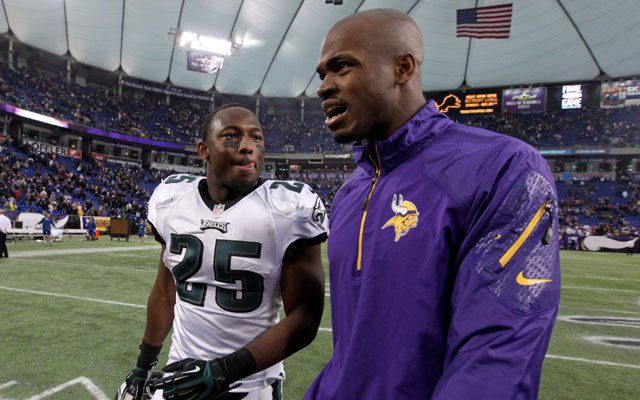 LeSean McCoy says he's the best NFL RB. Adrian Peterson disagrees.