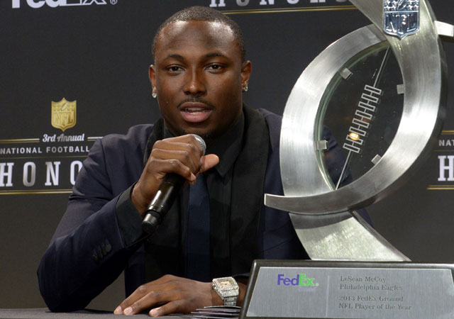 LeSean McCoy is not a big fan of Tim Tebow's game.
