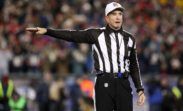 It's been a rough season for referee Bill Leavy and his crew. (USATSI)