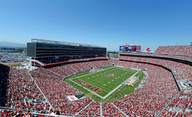 Levi's Stadium is structurally sound after an earthquake hit the Bay Area on Sunday. (USATSI)