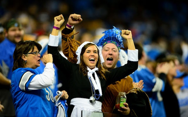 Lions fans seem to be the only ones in the NFC North with anything to cheer about. (USATSI)