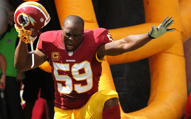 London Fletcher says the NFC East is terrible this year. (USATSI)