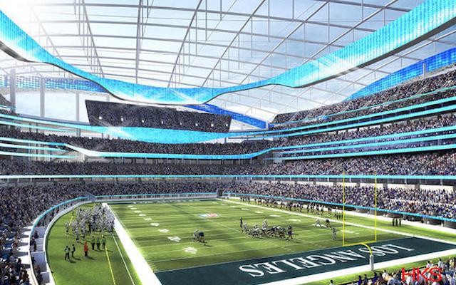 Look Renderings Of Proposed Two Team La Nfl Stadium