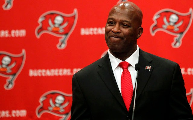 New Buccaneers coach Lovie Smith was closely involved in the hiring of Jason Licht. (USATSI)