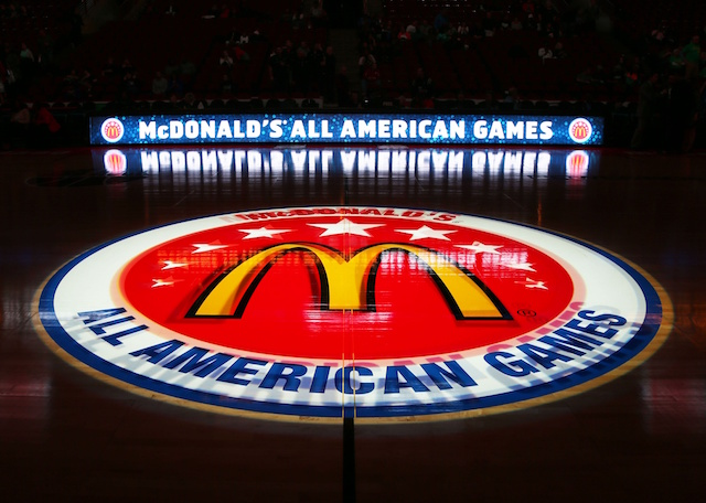 The McDonald's All-American game rosters were announced on Sunday night. (USATSI)