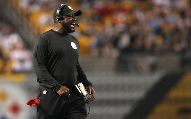 Mike Tomlin hasn't ruled out suspended his top two running backs. (USATSI)