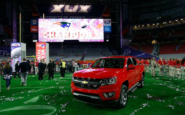 Here's what Malcolm Butler's new truck looks like. (USATSI)