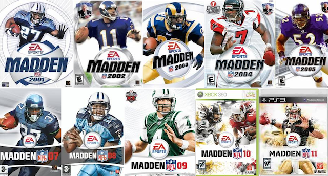 These guys didn't have much luck after making their way onto the Madden cover. (EA Sports)
