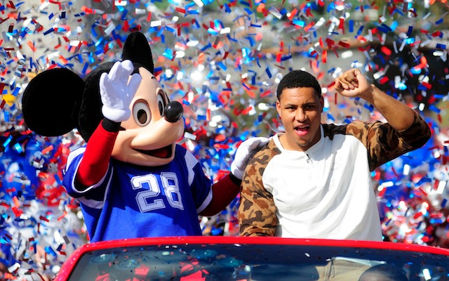 Malcolm Smith really did go to Disney World. (USATSI)