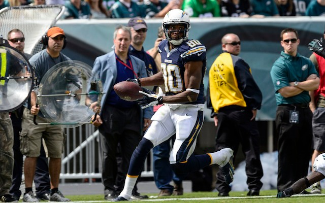 After only playing in two games, Malcom Floyd's 2013 season is over. (USATSI)