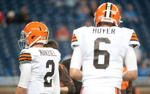 Brian Hoyer will start his second preseason game in a row on Monday. (USATSI)