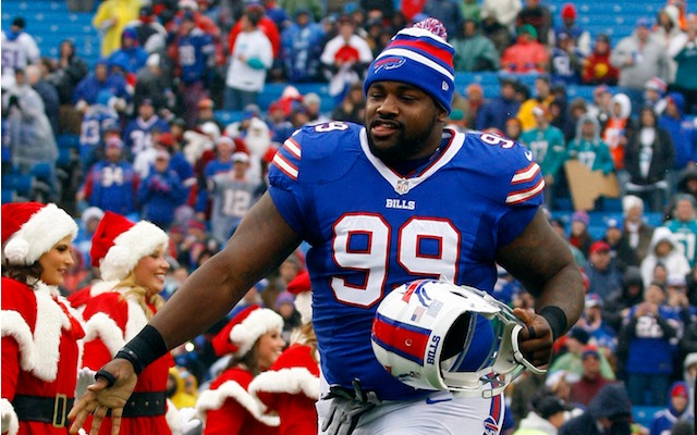 Bills defensive tackle Marcell Dareus is in trouble with the law again. (USATSI)