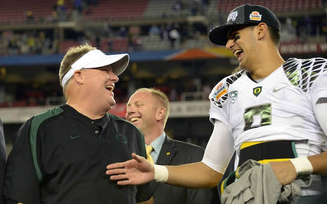Marcus Mariota thinks there's a chance he ends up with Eagles