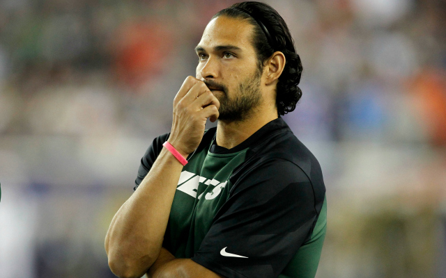 Mark Sanchez says he's 'not going anywhere' and will stick with the Jets.