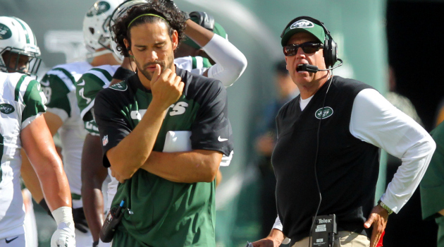 Mark Sanchez says there's 'no doubt' he won the Jets quarterback competition.