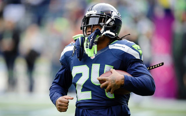 Marshawn Lynch was not happy about the Percy Harvin trade. (USATSI)