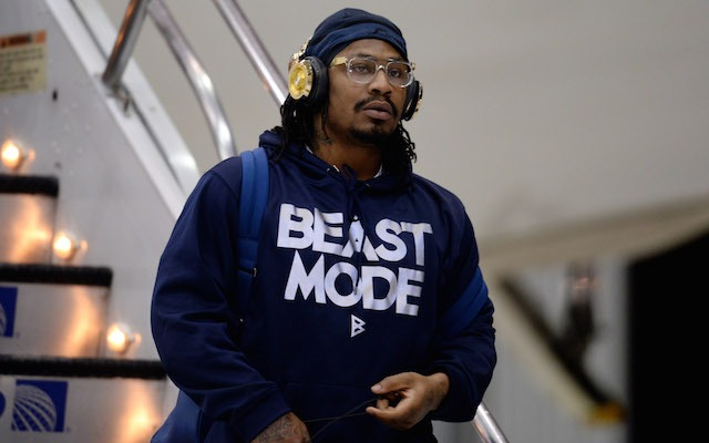 Marshawn Lynch is going to play himself in a movie. (USATSI)
