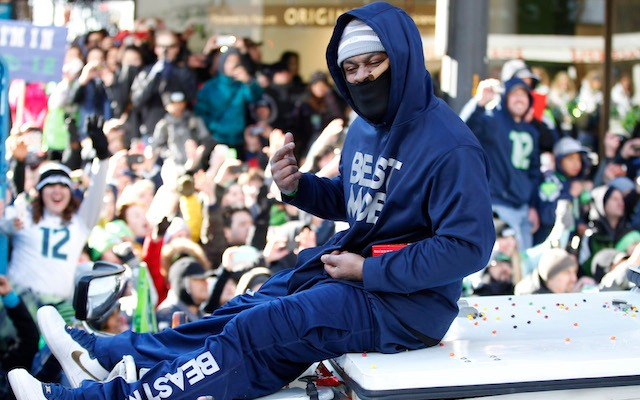 Marshawn Lynch will plead guilty to reckless driving. (USATSI)