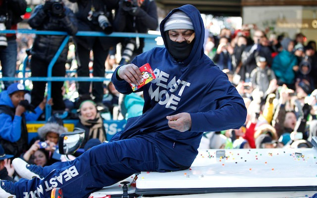 If Marshawn Lynch is around, you can bet there will be some Skittles close by. (USATSI)